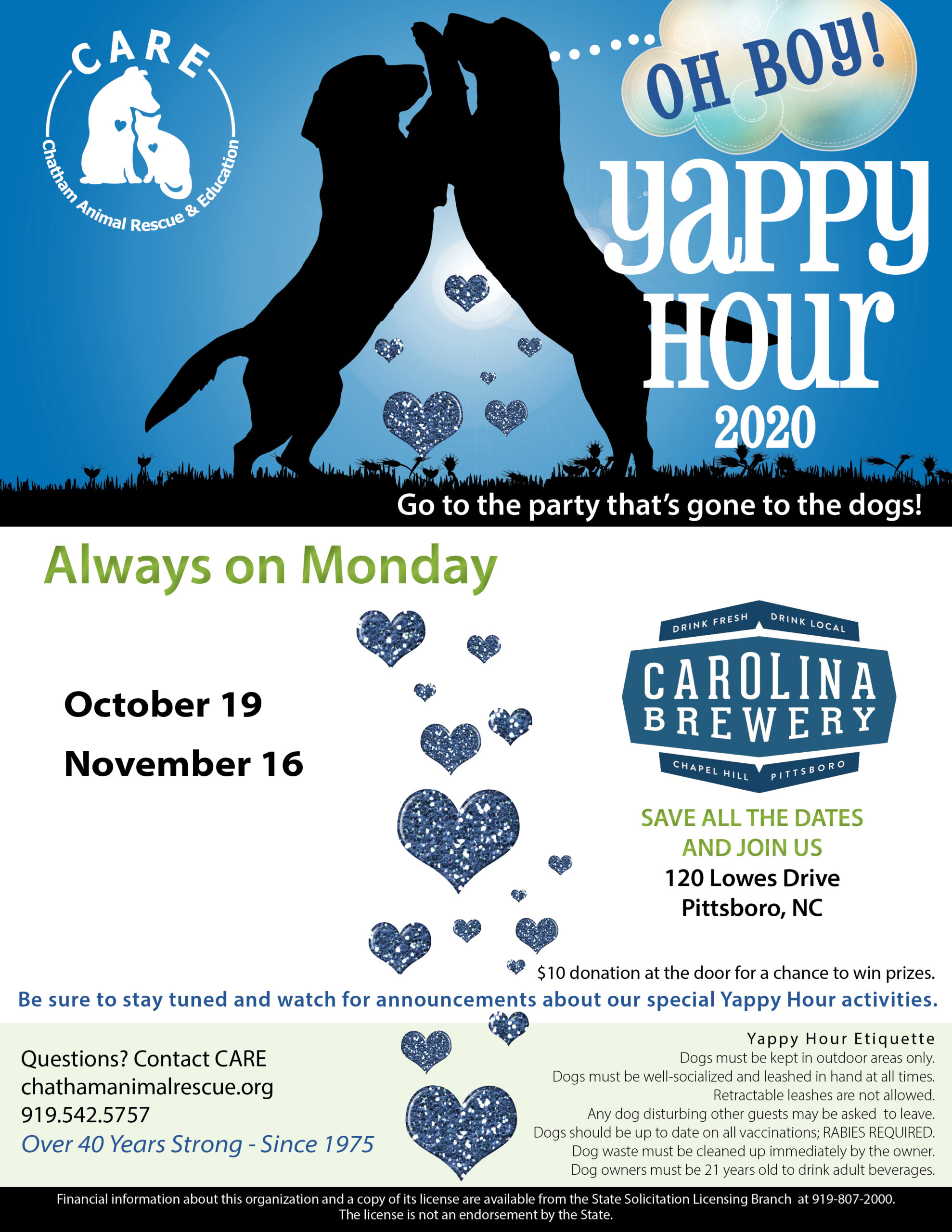 Virtual Yappy Hour - October