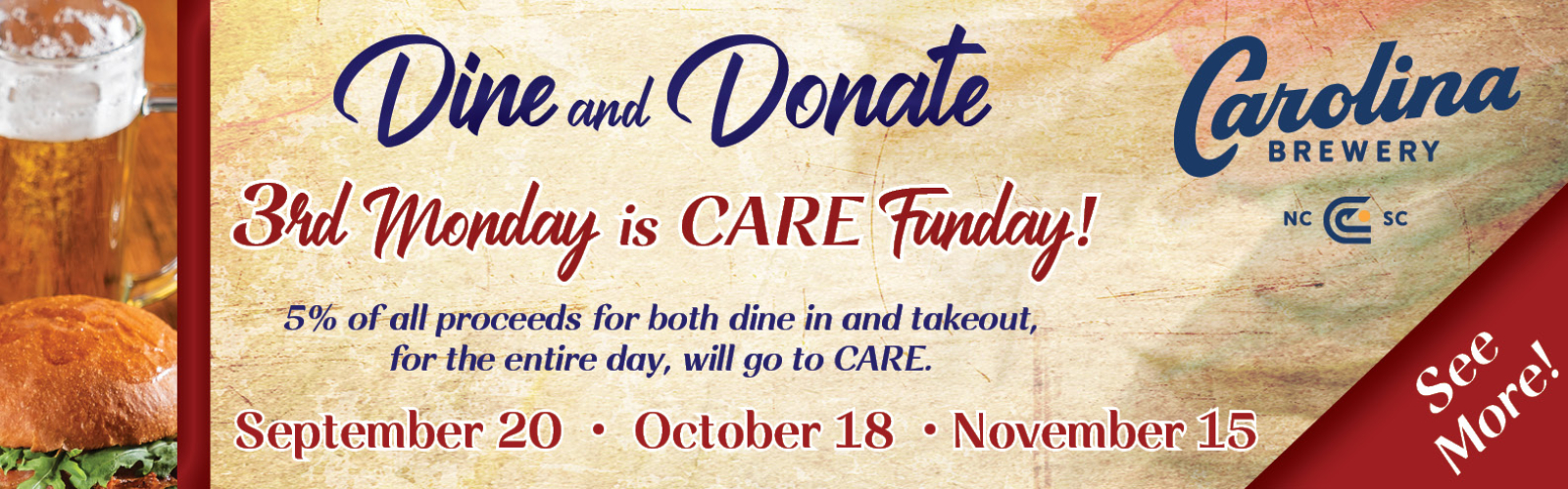 CB Dine and Donate FALL SLIDER